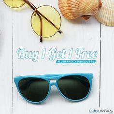 Friday Sale! You Don't Want to Miss This. Buy One Get One Offer on Premium Sunglasses @Coolwinks. Use CoolCash & Get UPTO Rs.600 OFF. Hurry! Shop Now.