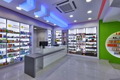Menegaki Helen & Moisaki Lida Pharmacy by Lefteris Tsikandilakis, Heraklion – Greece » Retail Design Blog