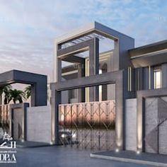 Design Villa Moderne, Modern Villa Design, Modern Architecture Design, Interior Design Dubai, Modern Interior Design, Conception Villa, Luxury Homes Dream Houses, Beautiful Villas, Dream House Exterior