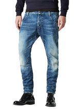 3D Low Tapered Straight Jeans