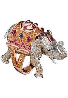 Anello elefante di Boucheron - Anelli con animali: preziosa selezione di anelli a forma di animali