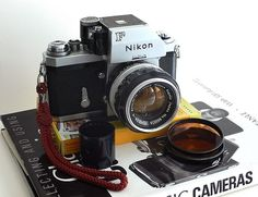 Nikon F - One of the best 35mm SLR cameras ever made. I have one and they are awesome!
