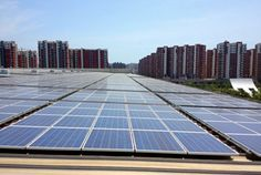 35MWp Roof Solar Power System Location: Qingdao, Shandong Province, China Completion Time: November, 2013