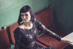 #model #modeling #session #black #woman #beauty #photography #photoshot #Poland #dress #fashion #glamour