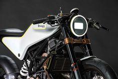 Husqvarna, Concepto de motocicletas. Crédito de la imagen: Husqvarna