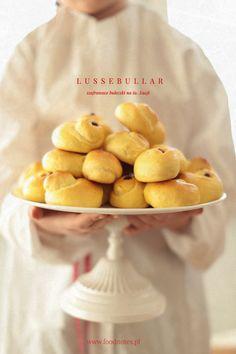 Lussebullar - swedish saffron buns / szwedzkie bułeczki szafranowe