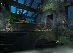 Set design from Muppet Show featuring Alice Cooper