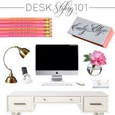 the HUNTED INTERIOR: Styling my Desk