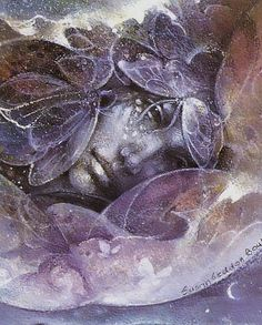 Susan Seddon Boulet - closeup, to see how she painted