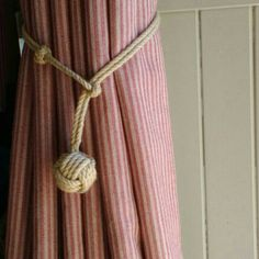 Check out this item in my Etsy shop https://www.etsy.com/uk/listing/211498904/rope-curtain-tie-back-handmade-with