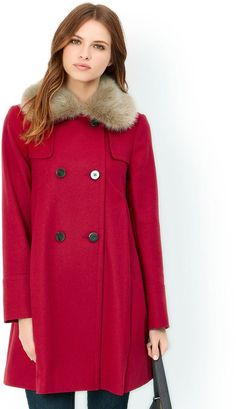 Pin for Later: Look Princess Perfect in a Duchess of Cambridge-Inspired Dress Coat Sabella Swing Coat Sabella Swing Coat (£99)