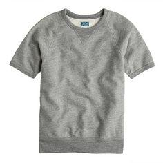 Short-Sleeve Sweatshirt