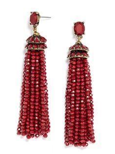 Tiffany Tassel Drops Earring | BaubleBar