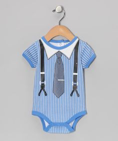 Put darlings in this professionally precious bodysuit, certain to inspire bitty baby moves and cast smiles all around. With snaps in back and on bottom, this comfy number is fun to wear for more reasons than one. 100% cottonMachine wash; tumble dryImported