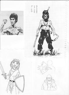 sketchbook #4 by vlad legostayev, via Behance