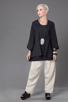 Shown w/ Y-Tank and Short Kimono Jacket
