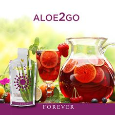 You love the benefits of Forever Aloe Vera Gel™. And you love the sweet, exotic taste and the antioxidant blast of Forever Pomesteen Power®, which contains Pomegranate, Pear, Mangosteen, Raspberry, Blackberry, Blueberry and Grape Seed Extract. Forever Living Products® has taken the best of both drinks and combined them into a single-serving.