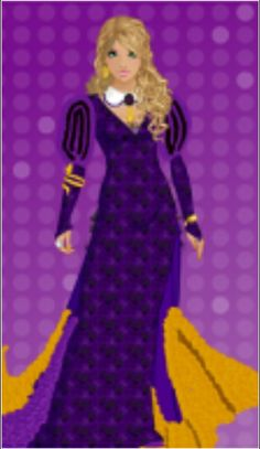 Purple and gold-2