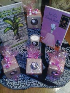 """It's here...My very own line of all natural soy candles. """"The Elegance of POME' """" How grateful I am. Soon and very soon they'll be available from my website. I will keep you informed. (Packaged with excellence in mind.) Markeeta Foster"""