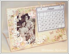 Mariannes papirverden.: Kalender - Pion Design