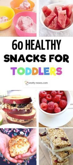 60 Healthy Snacks for Toddlers. Whether you& looking for a healthy snack recipe or a healthy snack idea, this is the post for you. Even if you have a fussy toddler or a picky toddler you& sure to find a healthy snack that your toddler will love! Vegan Healthy Snacks, Healthy Toddler Snacks, Healthy Kids, Baby Snacks, Healthy Recipes For Toddlers, Easy Meals For Toddlers, Food Ideas For Toddlers, Smoothies For Toddlers, Healthy Food For Toddlers