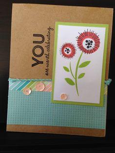 Nancy Klein: Cross Canada Blog Hop - April Showers Bring May Flowers  #Blossom #CardmakingWOTG