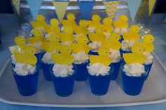 Shower Party, Baby Shower Parties, Baby Shower Themes, Shower Ideas, Party Fun, Party Ideas, 2nd Birthday, Birthday Parties, Rubber Ducky Birthday