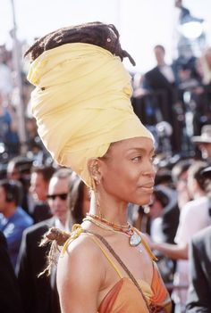 Erykah Badu, Never hotter than when her Afro wig came off mid-performance at Dave Chappelle's Block Party, and she just went with it.