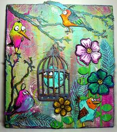 Felicie`s Creativ World: Crazy Birds