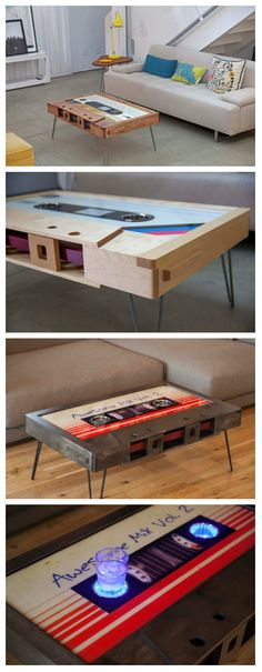 Guardians of the Galaxy themed coffee table
