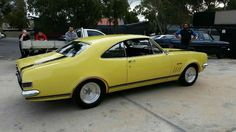 Holden Monaro, General Motors, Ford, Muscle, Yellow, Vehicles, Cutaway, Ford Trucks, Muscles