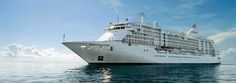 Regent Seven Seas Cruises. You may not have heard of them, but it is the world's best cruiseline. Everything is included! Food, Air, Excursions, Drinks. All Inclusive Bliss!