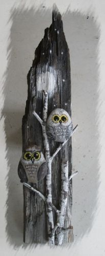 Creative Ideas for Painted Pebble and River Rock Crafts River Rock Crafts, Art Rupestre, Art Pierre, Owl Crafts, Kids Crafts, Driftwood Crafts, Stone Crafts, Nature Crafts, Pebble Art