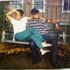 Remy Ma & Papoose (chillin!)
