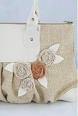 Kabelky - taška Star béžová - 4082154_