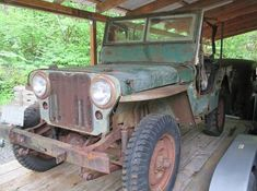 1947 Willys CJ2A: $1695 Project - http://barnfinds.com/1947-willys-cj2a-1695-project/