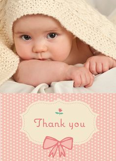 Little Baby Thanks | Thank You Cards for Baby Gifts & Baby Showers ...