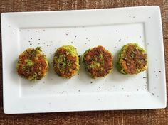 The cheesy nugget-style of these Broccoli Bites will appeal to the whole family.