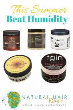 10 Natural Hair Products That Beat Humidity & Keep Frizz Away Bookmark or Save for Later
