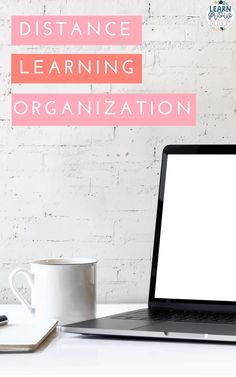 Two FREEBIES for teacher organization during distance learning. This blog post also contains 5 tips for elementary teacher organization during remote learning including how to create a schedule and ideas to organize your online learning activities. #classroomorganization