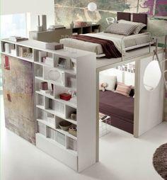 Image result for loft bed bedroom ideas