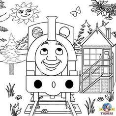 3 Drawing Railway Clipart Preschool Crafts The Train Henry