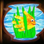Hands are great for crafts! Enjoy this cute fish bowl craft with your kids! Kids Crafts, Sea Crafts, Daycare Crafts, Summer Crafts, Toddler Crafts, Craft Projects, Arts And Crafts, Paper Crafts, Auction Projects