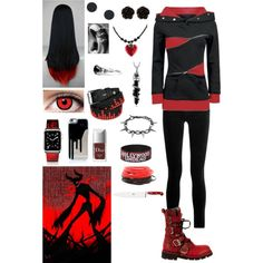 Creepypasta: Daughter of Zalgo by ender1027 on Polyvore