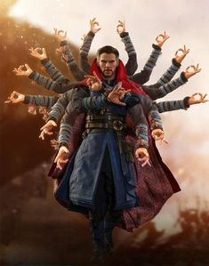 """Hot Toys Marvel Avengers Infinity War Doctor Strange Figure Hot Toys Avengers: Infinity War Doctor Strange Sixth Scale Figure: """"I went forward in time… to view alternate futures. To see all the possible outcomes of the coming conflict. Marvel Doctor Strange, Doctor Strange Memes, Marvel Avengers, Spiderman Marvel, Doctor Strange Benedict Cumberbatch, Avengers Infinity War, Marvel Movies, Marvel Cinematic Universe, Funny Memes"""