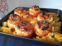 Un classico....pomodori con riso e patate