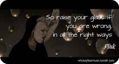 p!nk quotes | 803 333 kb jpeg pink p nk quote quotes images image typography http ...