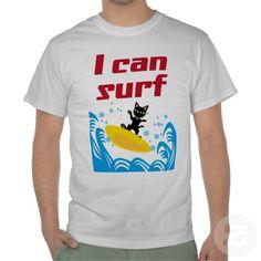I CAN SURF TEE SHIRT by BATKEI