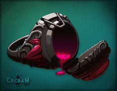 Bague Poison ♠ Eredan ITCG