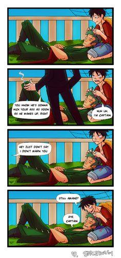 Zoro and Luffy, the best nakamaship ever